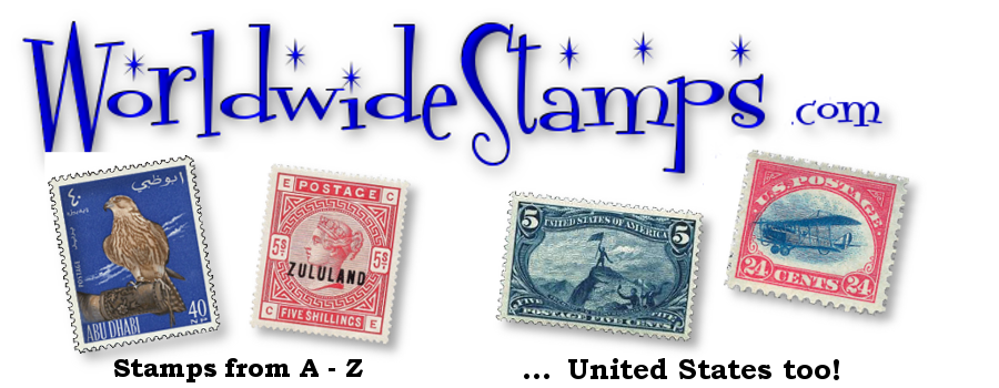 Stamps from A to Z for collectors and United States stamps too!